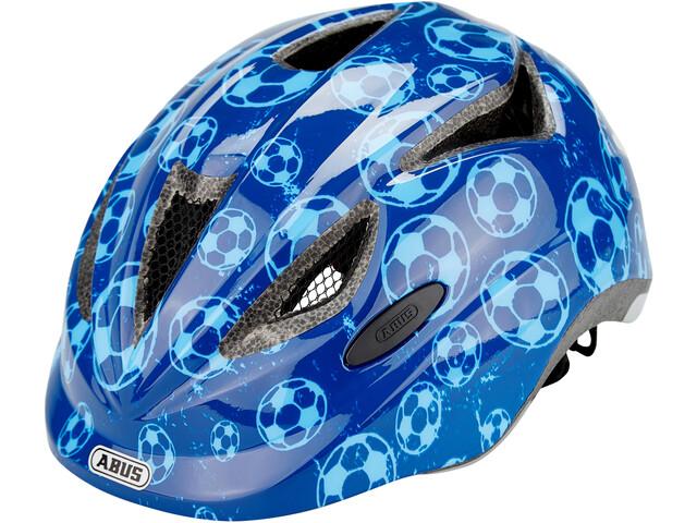 ABUS Anuky Helmet Barn blue soccer